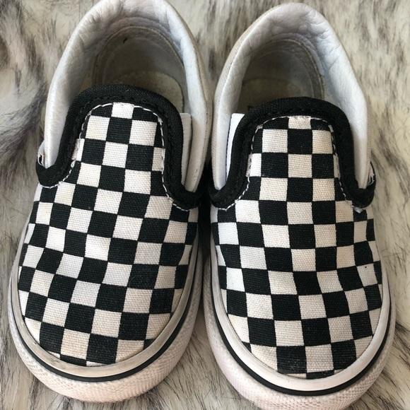1f8da02ba81043 Vans toddler checkered slip-on shoes 5. M 5b68c383cdc7f718af81df44